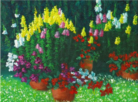 Colorful Flowers Jigsaw Puzzle