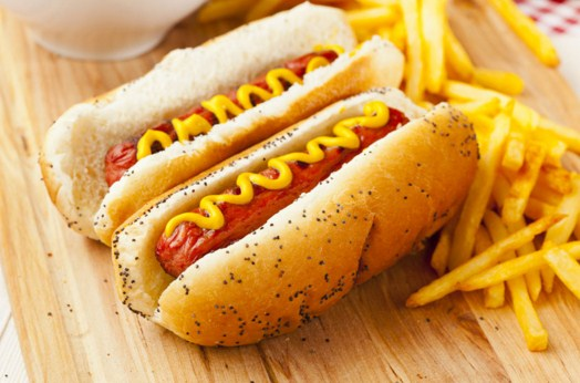 Hot Dogs With Mustard Jigsaw Puzzle