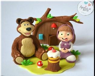 Masha and The Bear Cakes
