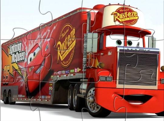 Cars Mack Truck Jigsaw