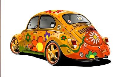 Beetle Car Jigsaw