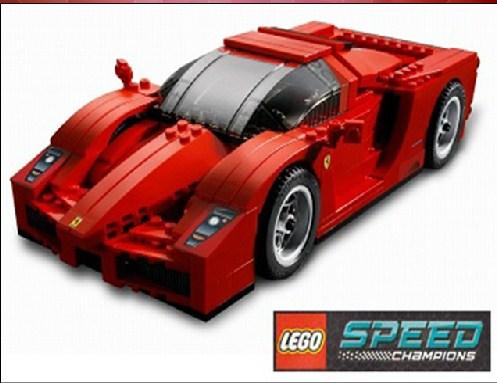 Lego Ferrari Jigsaw