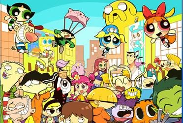 Popular Cartoons Jigsaw