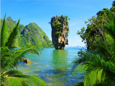 Tropical Island Jigsaw Puzzle