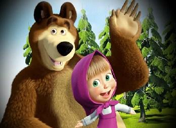Masha and Bear Jigsaw