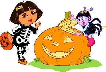 Dora Halloween Jigsaw