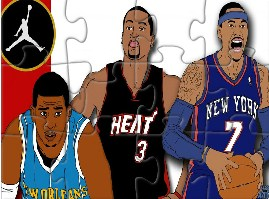 Wade Chris And Carmelo
