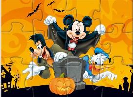 Mickey Halloween Puzzle