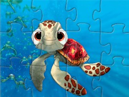 Finding Nemo Squirt Puzzle