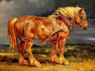 Horse on a Stormy Day Jigsaw Puzzle