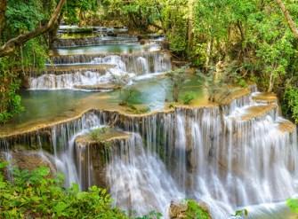 Thailand Waterfall Jigsaw Puzzle