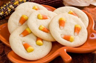 Candy Corn Sugar Cookies Jigsaw Puzzle
