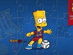 Bart Soccer er Puzzle