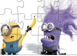 Scary Despicable Me Puzzle