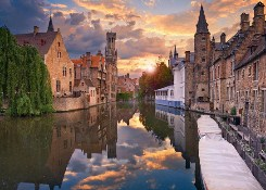 Most beautiful cities bruges cr alamy
