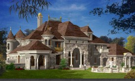 French Style Castle