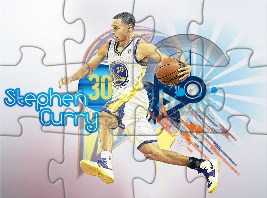 Stephen Curry Warriors Puzzle