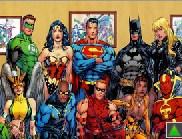 Comics Superheroes Puzzle