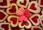 Desenhos de Valentine Cookies para colorir
