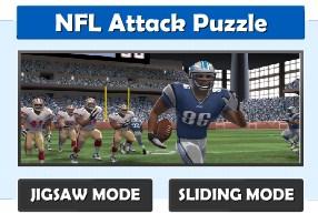 NFL Attack Puzzle