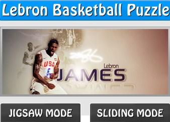 Lebron Basketball Puzzle