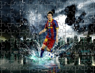 Lionel Best Football Puzzle