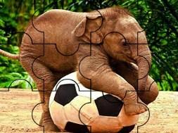 Player Elephant Puzzle