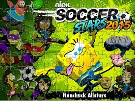 Nickelodeon Soccer Stars Puzzle