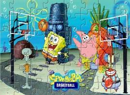 Spongebob Basketball Puzzle