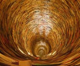 Book Tunnel: Fabulous book tunnel