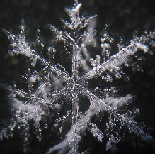 Snowflakes jigsaw games