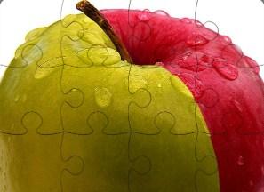 2 Apple Jigsaw Puzzle
