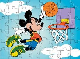 Miki Slam Dunk Puzzle