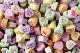 Conversation Heart Candy Jigsaw Puzzle