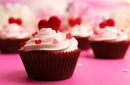 Delicious Valentine Cupcake