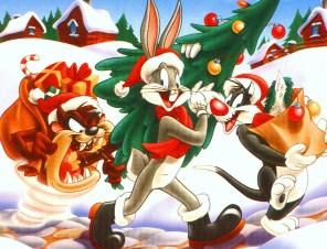 Bugs Bunny Christmas Jigsaw