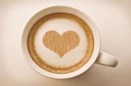 Heart Drawing On Latte