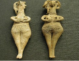 Ancient Art: Old statuettes