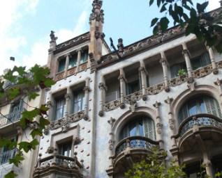 Building in Barcelona