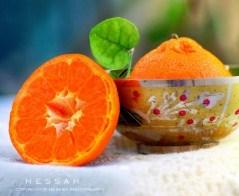 Halved Mandarin