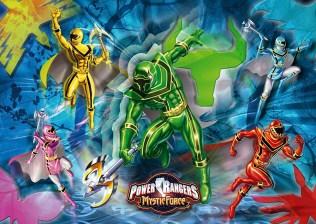 Power Rangers Jigsaw