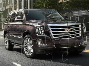 Cadillac Escalade Jigsaw