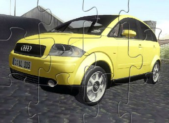 Audi A2 Puzzle