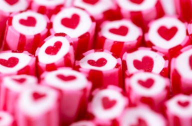 Heart Candy Canes Jigsaw Puzzle