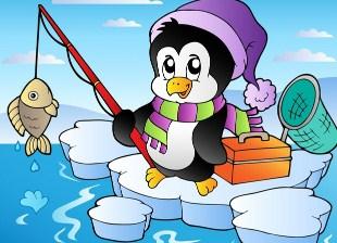 Fishing Penguin Jigsaw