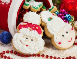 Santa Cookies Jigsaw Puzzle