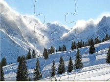 Blowing Snow Jigsaw Puzzle