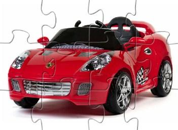Desenhos de Ferrari Kids Car Puzzle para colorir