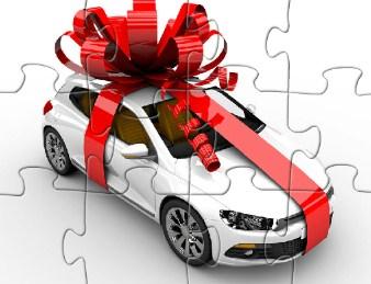 Christmas Car Puzzle