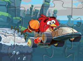 Angry Birds Flying Puzzle